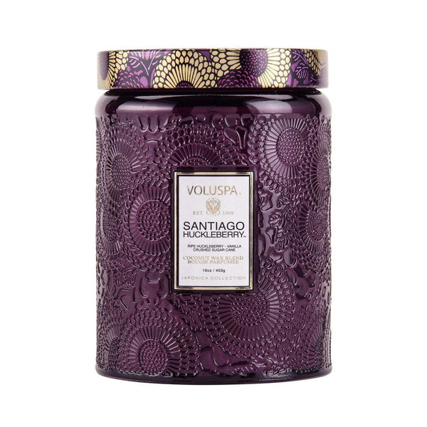 Santiago Huckleberry 100hr Candle