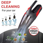 Clean Car - A Vacuum Cleaner with Strong Suction, Wet/Dry Dual-use