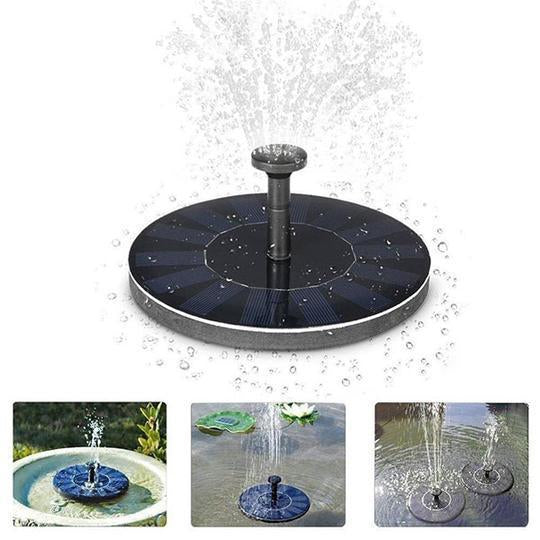 Solar Powered Bird Fountain(Buy 1 get 2)