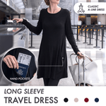 Long Sleeve Sweatshirt Travel Dress