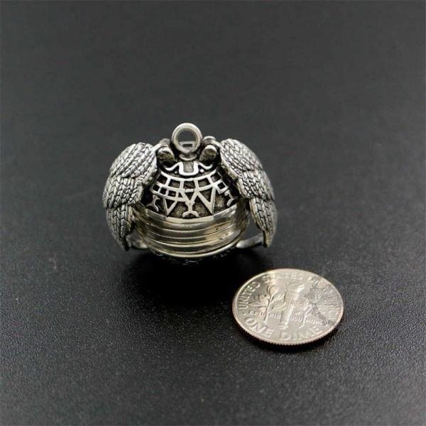 Newest Angel Wing Expanding Photo Locket
