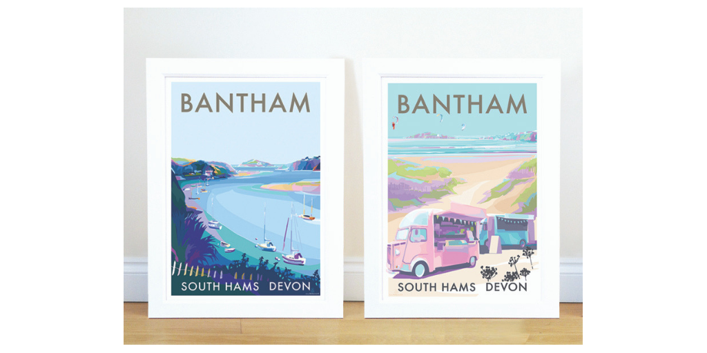 *** NEW SEASIDE COLLECTION PRINTS *** BANTHAM