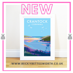 NEW RELEASE - CRANTOCK BEACH CORNWALL
