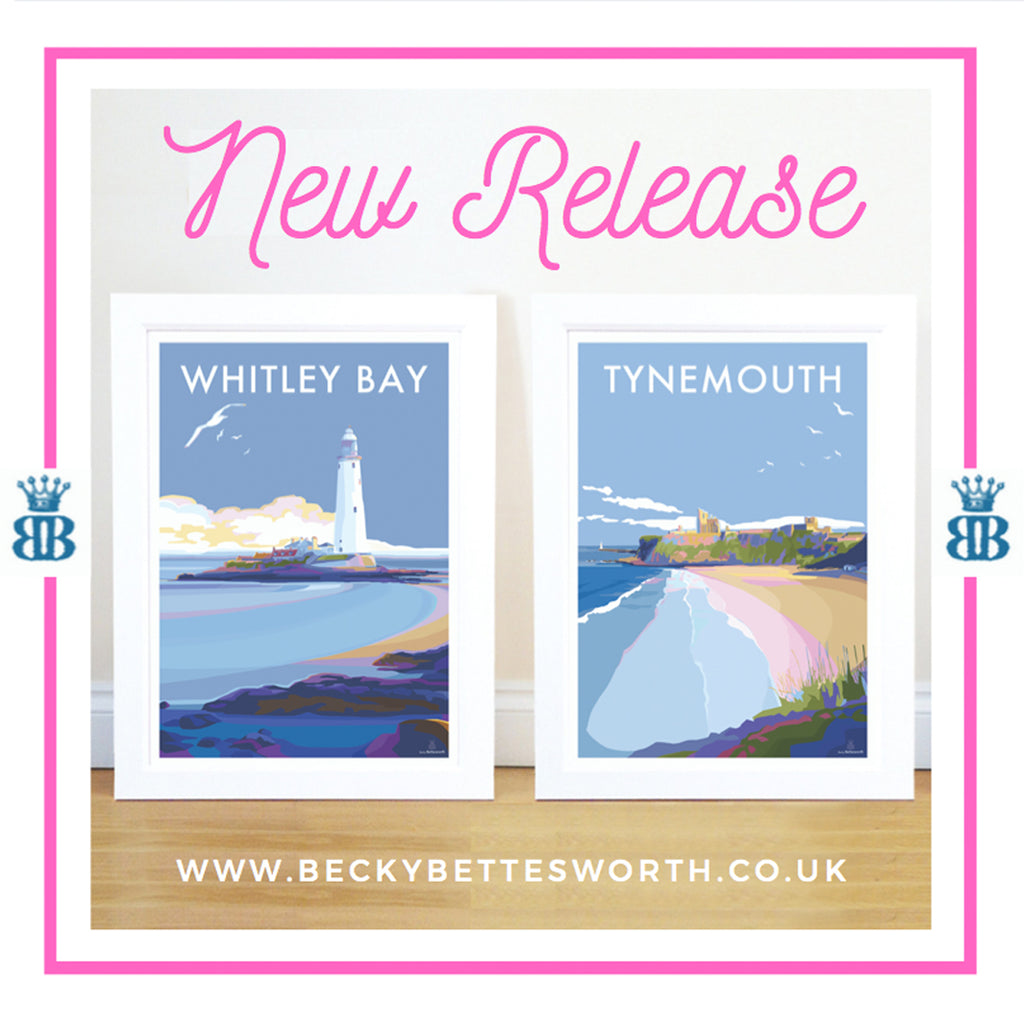 NEW RELEASES.... WHITLEY BAY & TYNEMOUTH