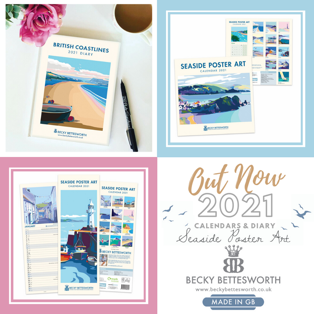 2021 CALENDARS & DIARY OUT NOW!!!!💙🌟🌸💖