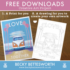 FREE Downloads Creative Art Project