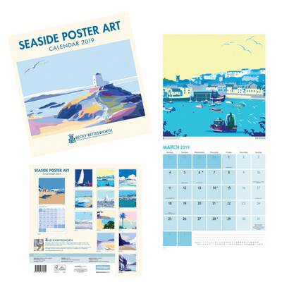 Becky Bettesworth 2019 Calendars and A5 Diary Now Available