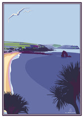 THURLESTONE HOTEL POSTCARD - BECKY BETTESWORTH