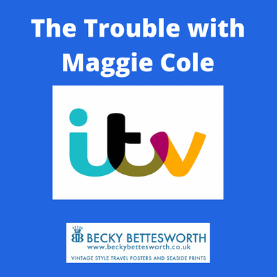 "Artwork Featured on the TV Programme ""The Trouble with Maggie Cole"""
