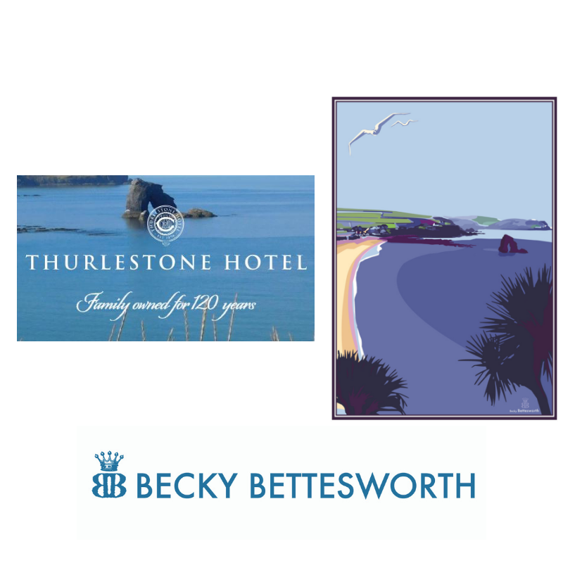 Thurlestone Hotel and Becky Bettesworth Collaboration