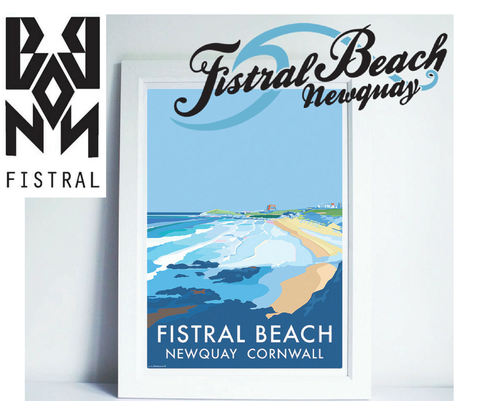 New shop at Fistral Beach!