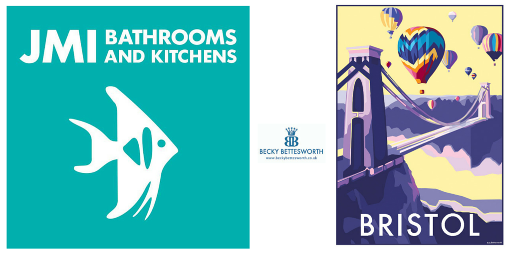 JMI Bathroom and Kitchen Centre features my vintage Bristol print