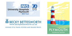 University Hospital Plymouth Use Becky's Artwork to drive Recruitment in the South West