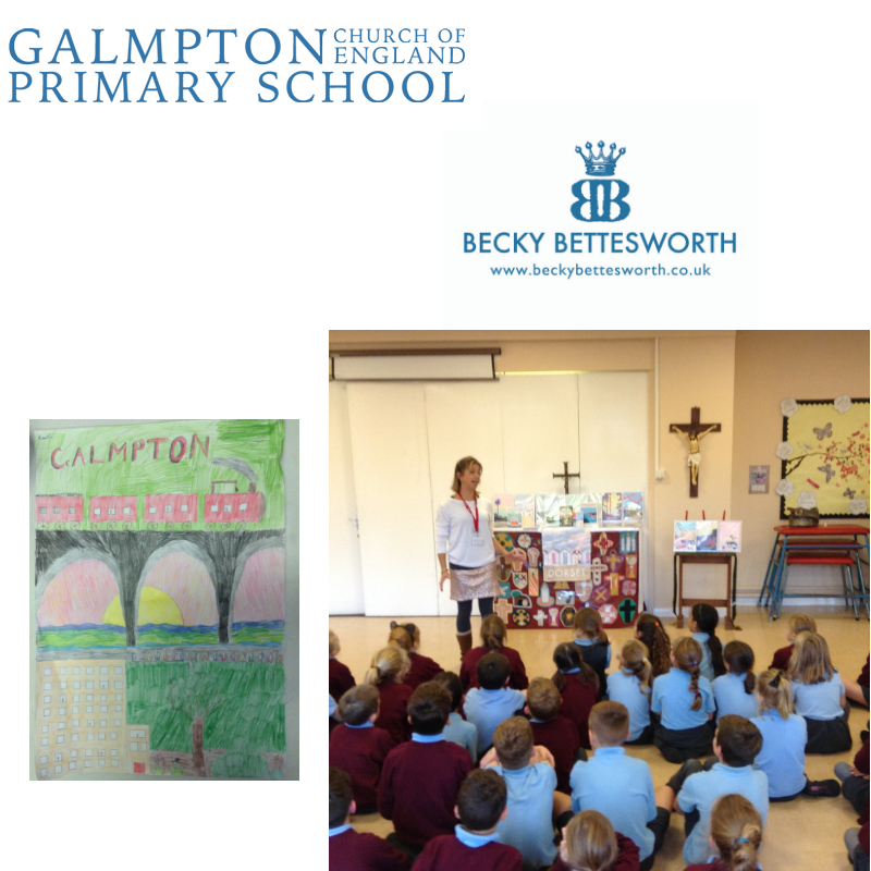 Becky's Visit to Galmpton Primary School