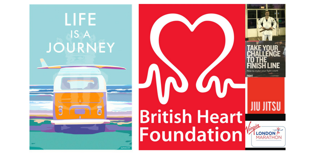 Becky Bettesworth's donation to raise money for the British Heart Foundation
