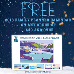 FREE 2018 CALENDAR WITH ANY ORDER OVER £40