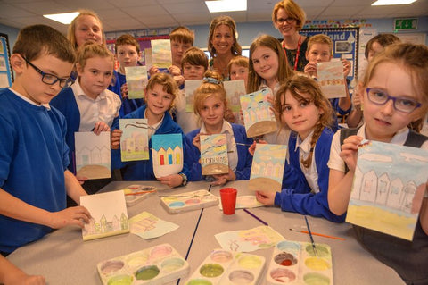 Becky Bettesworth School Visit to Halberton Primary School