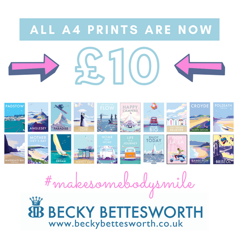 Becky Bettesworth All A4 Prints are £10