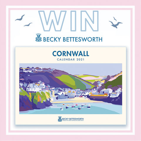 Becky Bettesworth Cornwall 2021 A4 Calender