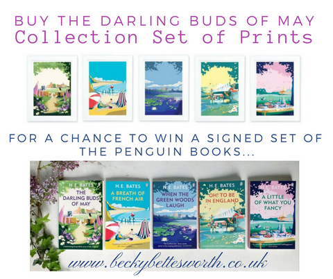 Win The Darling Buds of May set of Penguin books signed by Becky Bettesworth