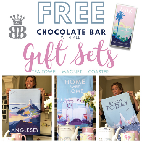 free chocolate bar with every Becky Bettesworth Gift Set sold