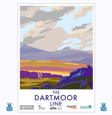 The Dartmoor Line GWR working with Becky Bettesworth