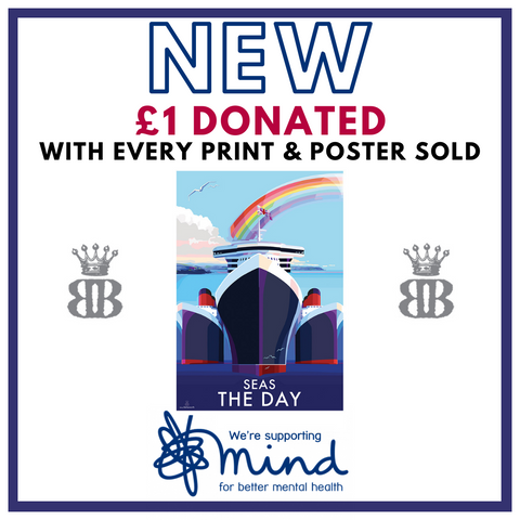 Becky Bettesworth New Poster Seize the Day supporting Mind Charity