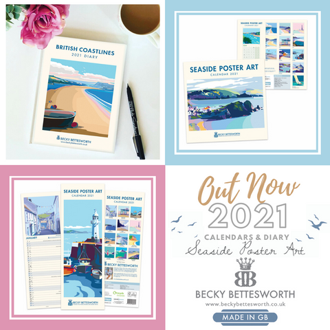 2021 Becky Bettesworth Calendars and Diary