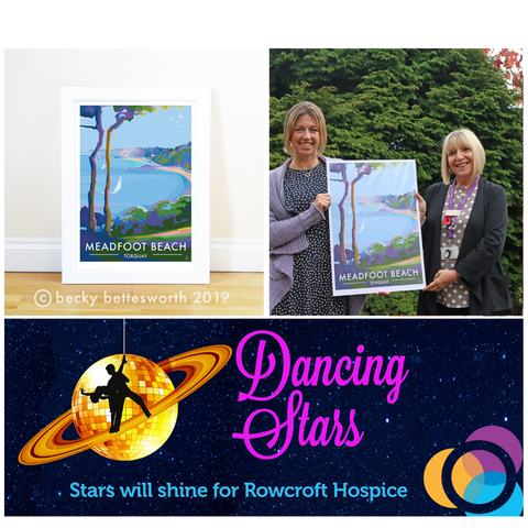 Becky Bettesworth Dancing with the Stars Rowcroft Hospice