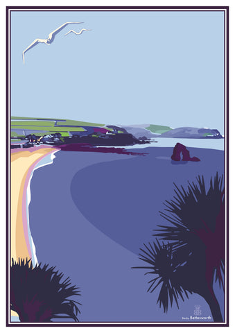 Thurlestone Hotel Becky Bettesworth Print