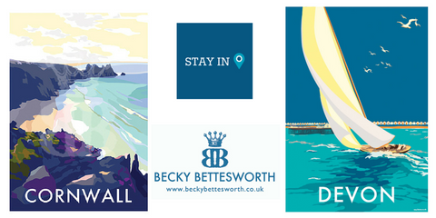 Stay In Devon & Stay In Cornwall competition winners