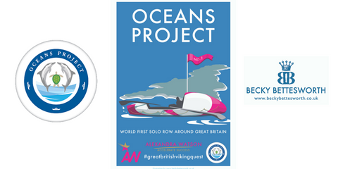 Becky Bettesworth creates Ocean Project artwork