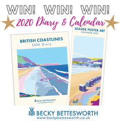 Win a Becky Bettesworth 2020 Diary and Slimline Calendar