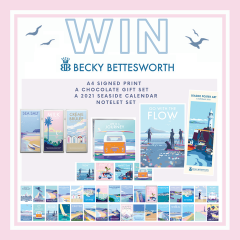 Win Becky Bettesworth Gift bundle competition