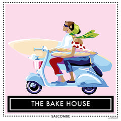 The Bake House Salcombe design by Becky Bettesworth