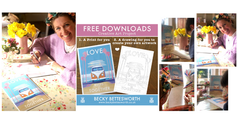 Free download Art Project by Becky Bettesworth