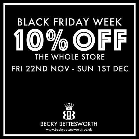 Black Friday Week Deals Becky Bettesworth