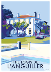 Private commission of a French Villa and Aston Martin classic car