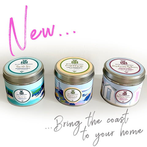 Becky Bettesworth Candles Bringing the Coast to your Home