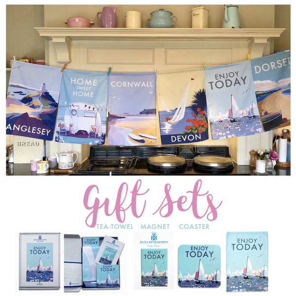 Tea Towel Gift Set Becky Bettesworth