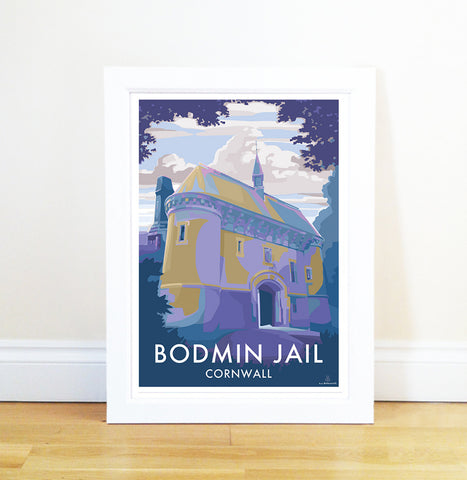 Travel Poster and Seaside Print by Becky Bettesworth