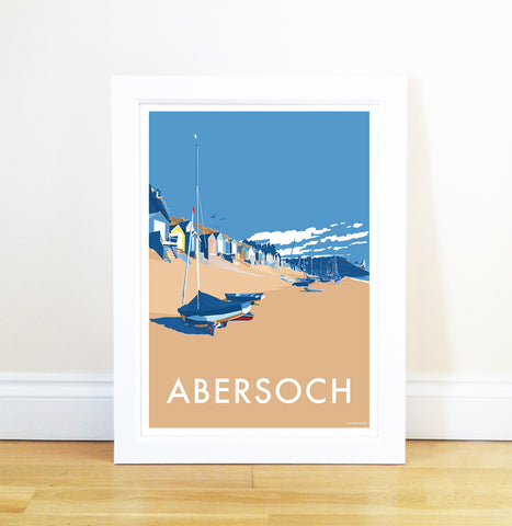 Abersoch - Becky Bettesworth Artwork - Travel Poster and Seaside Print
