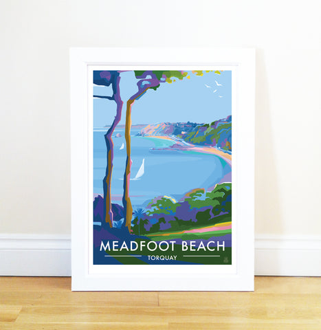 Meadfoot Beach, Torquay - Limited Edition A2