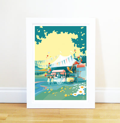 Becky Bettesworth Artwork - Travel Poster and Seaside Prints