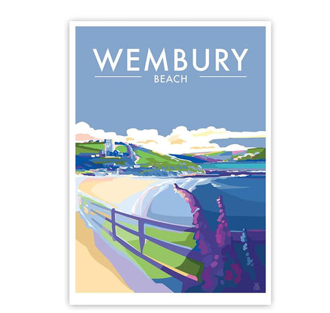 Wembury Beach Limited Edition by Becky Bettesworth