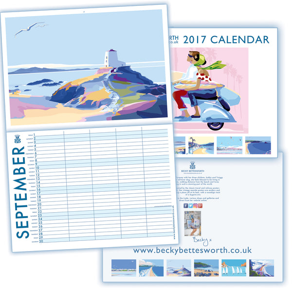 Becky Bettesworth *NEW LIMITED EDITION SIGNED 2017* Family Planner Calendar - BeckyBettesworth - 10
