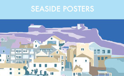 Becky Bettesworth seaside posters and travel prints