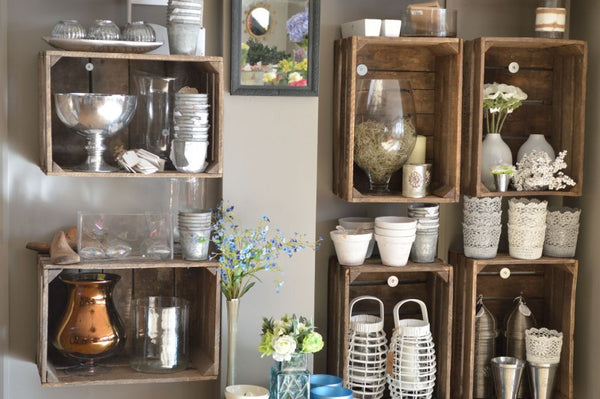 S&L Flowers Interior Design by French Loft Antiques