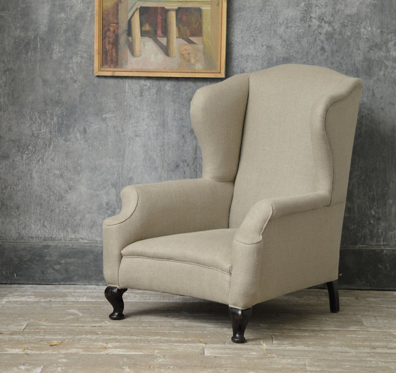 ENGLISH WING CHAIR