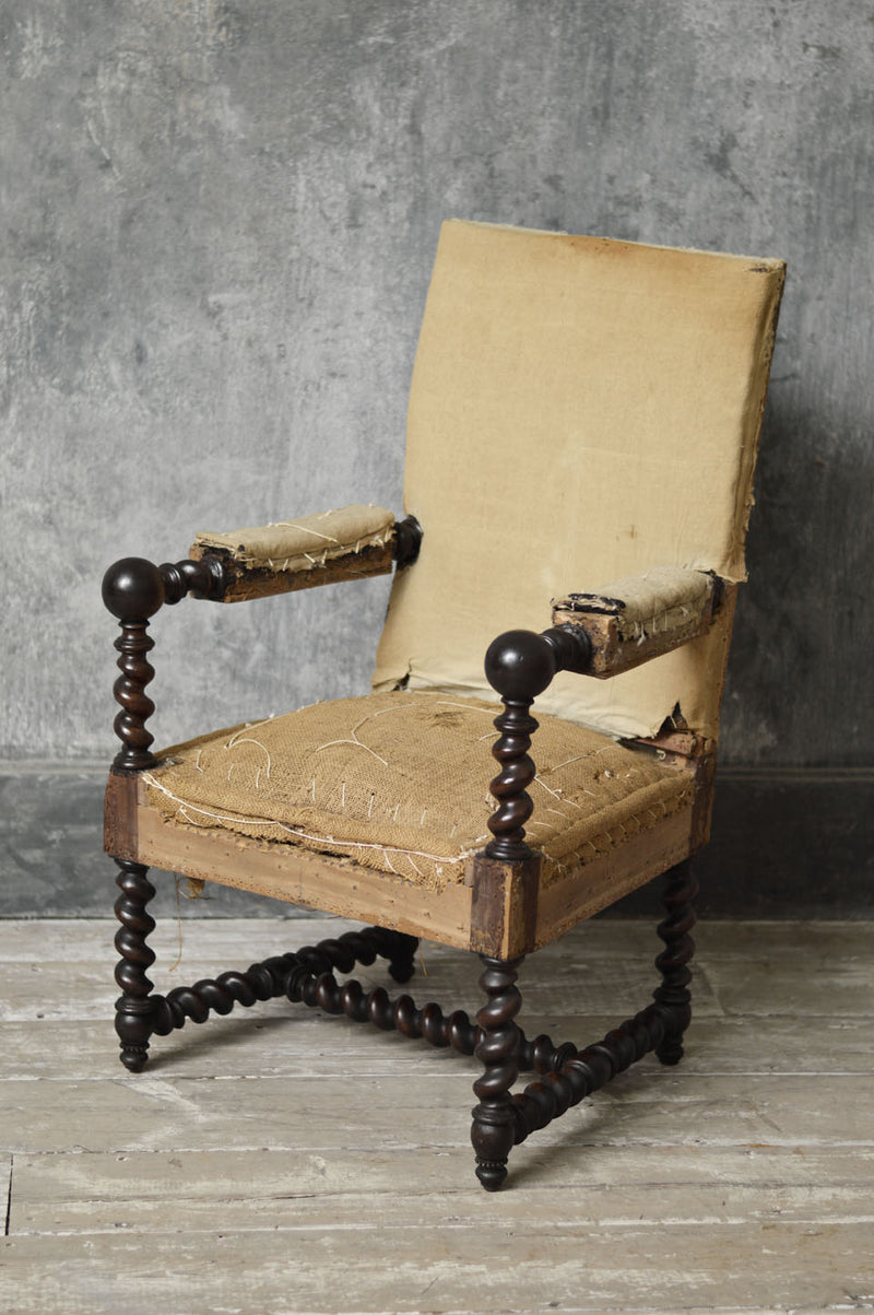LOUIS XIII STYLE ARMCHAIR